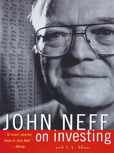 Cover of the book John Neff on investing.