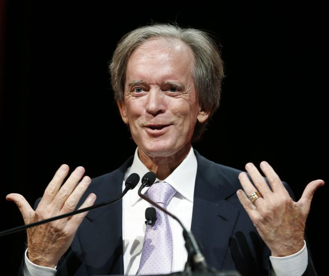 Bill Gross, co-founder and co-chief investment officer of Pacific Investment Management Company (PIMCO).