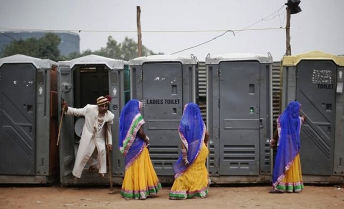 Hindustan Zinc will construct 10,000 toilets in Rajasthan.