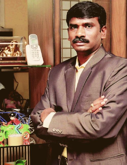 Entrepreneur Mannam Madhusudana Rao.