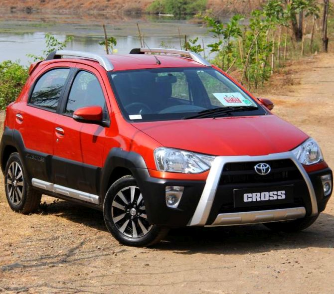Toyota Etios Cross: It's spacious and very masculine