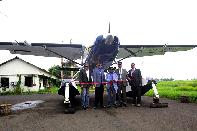 Maritime Energy Heli Air Services Pvt. Ltd (MEHAIR) and Maharashtra Tourism Development Corporation (MTDC)  launch first commercial flight from Mumbai to Pawana Dam (Lonavala) from Juhu.