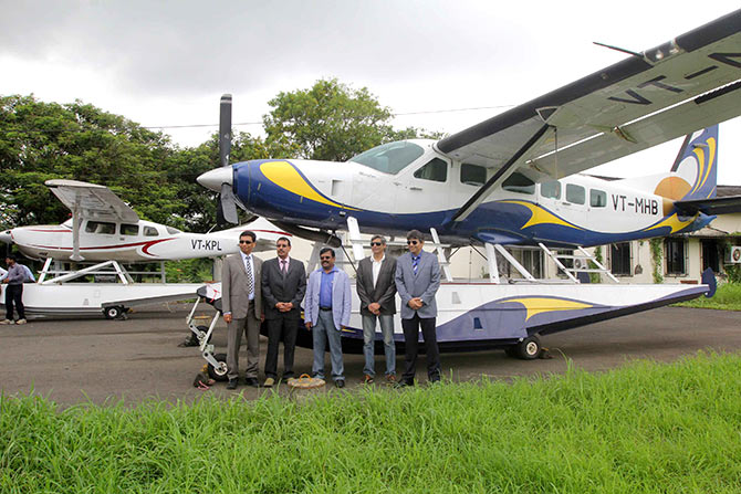 First seaplane service from Mumbai takes off to Lonavala