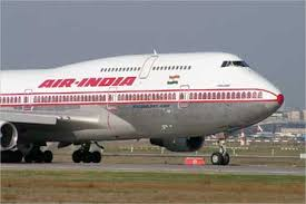 An Air India aircraft