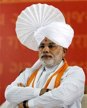 Narendra Modi. Photograph: Re