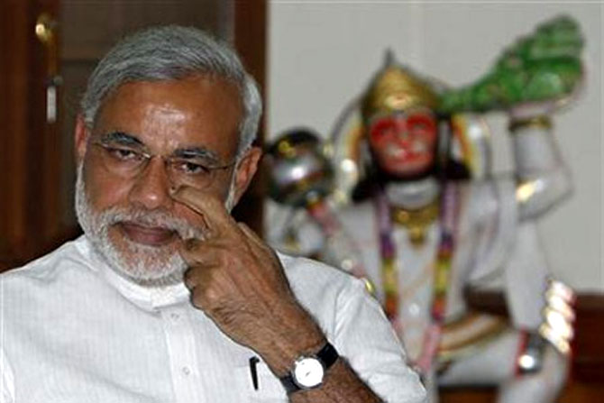 Narendra Modi takes crowdsourcing route on ideas to replace Plan panel. Photograph: Reuters