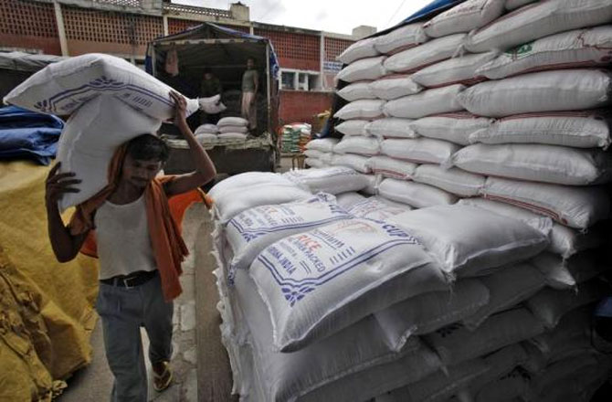India says it is confident WTO will understand food security concerns. Photograph: Ajay Verma/Reuters