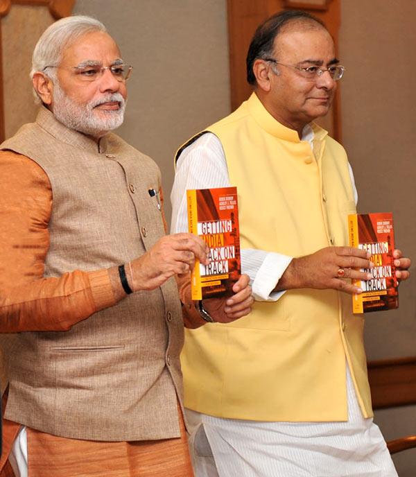 Prime Minister Narendra Modi and Finance Minister Arun Jaitley.
