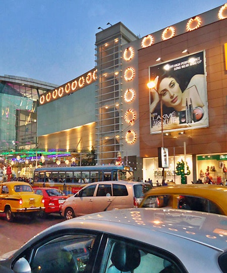 A mall in Kolkata.