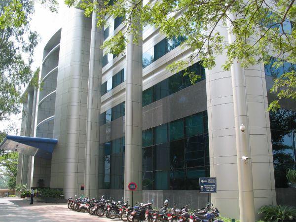 Intel's Bangalore office building.