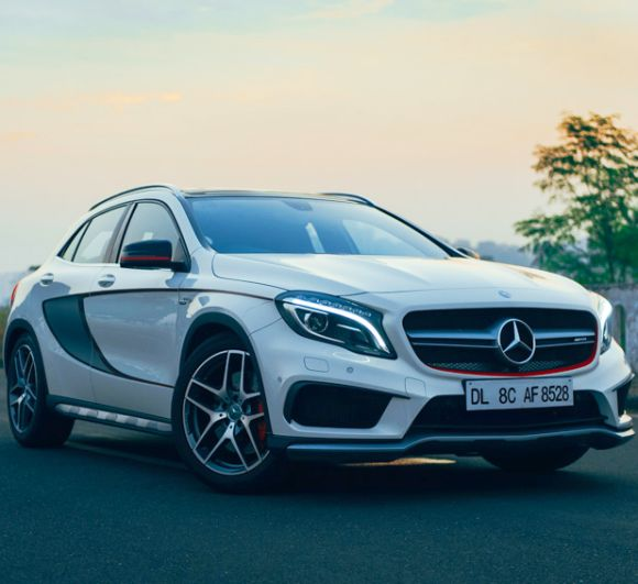 Mercedes GLA 45 AMG: Has the MOST powerful 4-cylinder engine