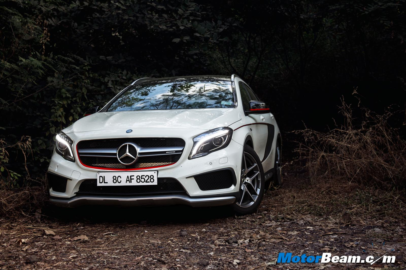 Mercedes GLA45 to dazzle on roads; comes at a slight premium