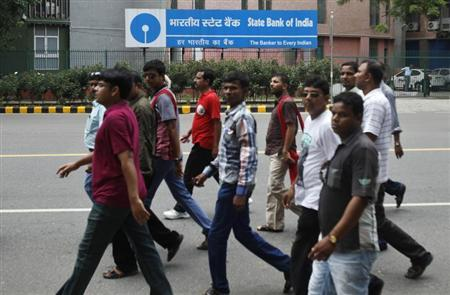 The State Bank of India, the country's biggest bank, does not meet the aspirational needs of the younger generation. Photograph: Anindito Mukherjee/Reuters