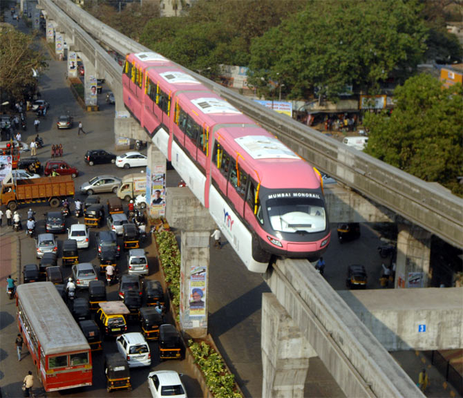 After Mumbai dream run, monorail mania catches Chennai's fancy