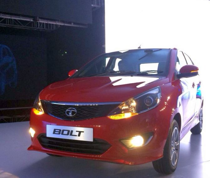 Tata Motors unveils compact sedan Zest and Bolt hatchback