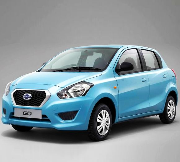 Nissan rolls out 'Datsun GO' from Chennai plant