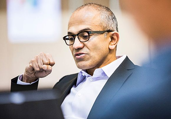 We have the best platform to change the world: Satya Nadella