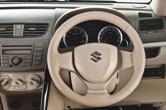 Interior of Maruti Suzuki Ciaz.