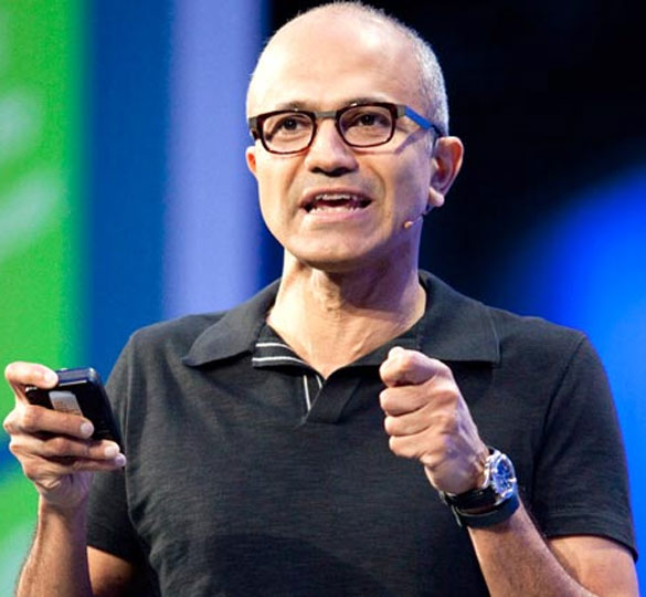 'Satya Nadella is a Beatles fan'