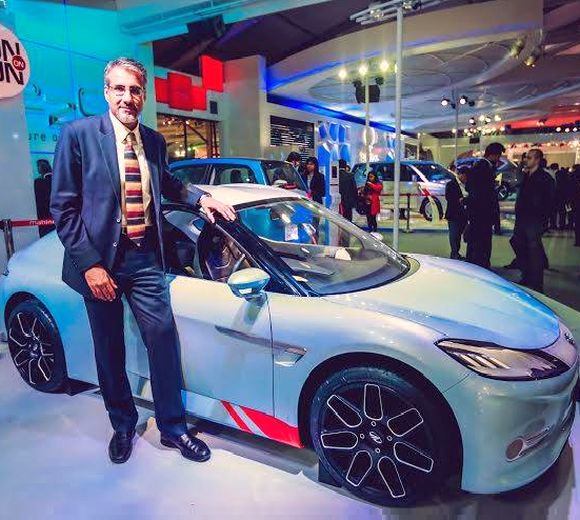 Mahindra's electric sports car touches 100 kms in 8 secs