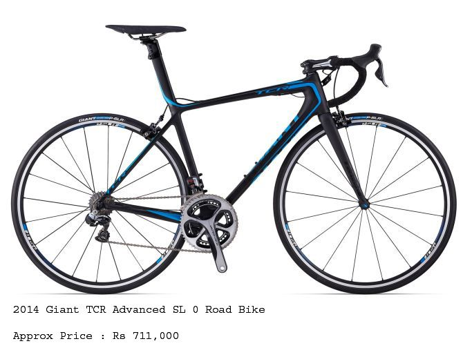 2014 Giant TCR Advanced SL 0 Road Bike that costs Rs 711,000