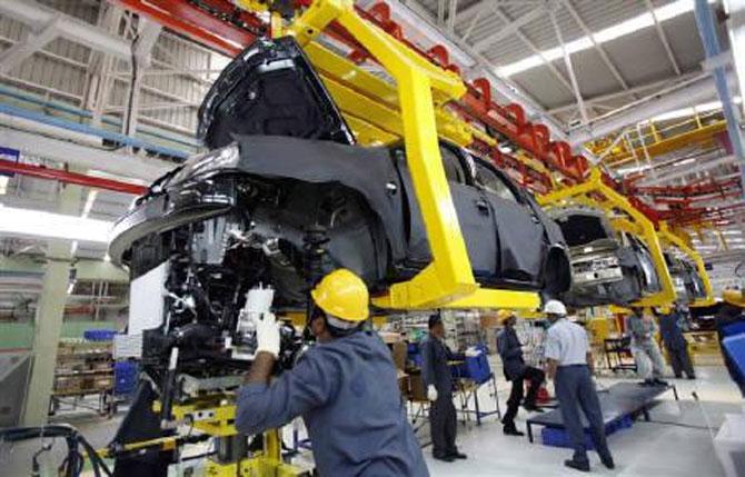Mahindra & Mahindra factory.
