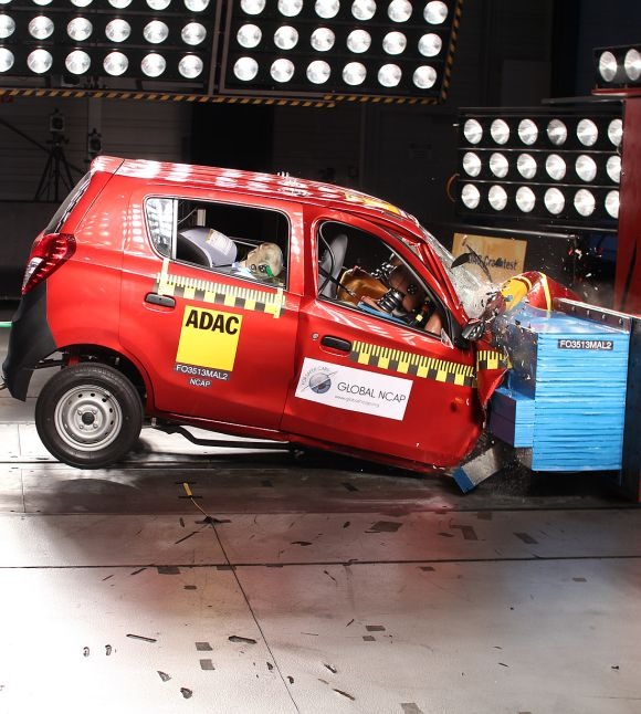 Which is the safest among best selling small cars? Find out...