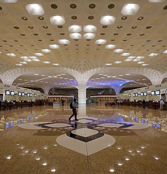 Mumbai airports T2 terminal.