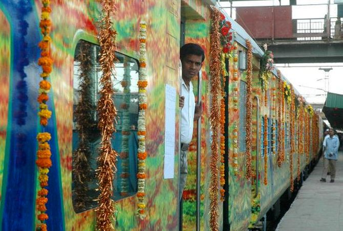 The Duronto Express.