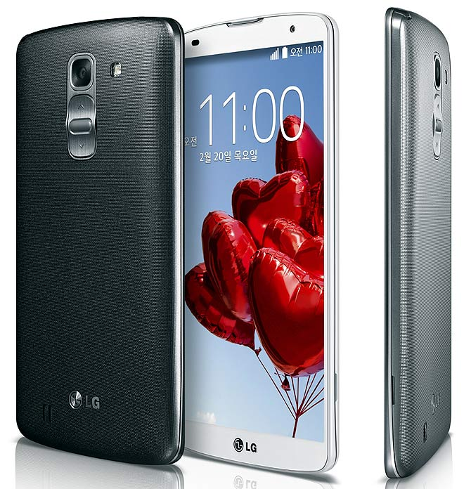 LG launches smartphone that rivals Samsung's Note 3