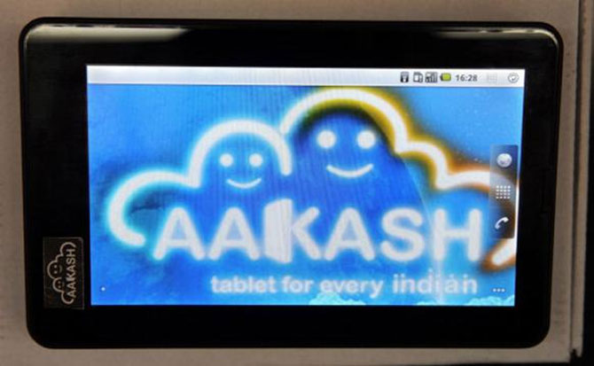 Aakash 4 to be available for Rs 3,999 soon: Sibal