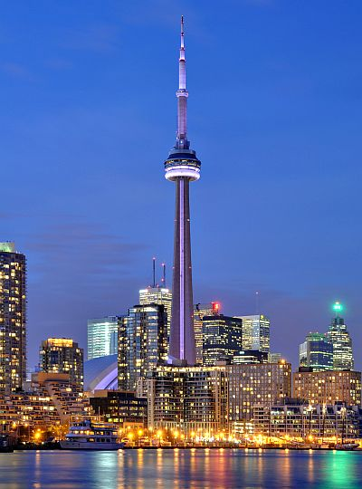 CN Tower in Toronto.