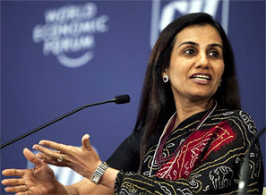 Chhanda Kochhar. Photograph: Getty Images
