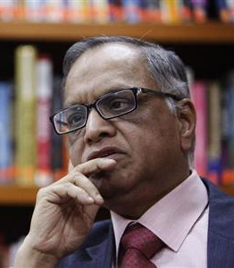 Narayana Murthy says non-performing staff will have to go