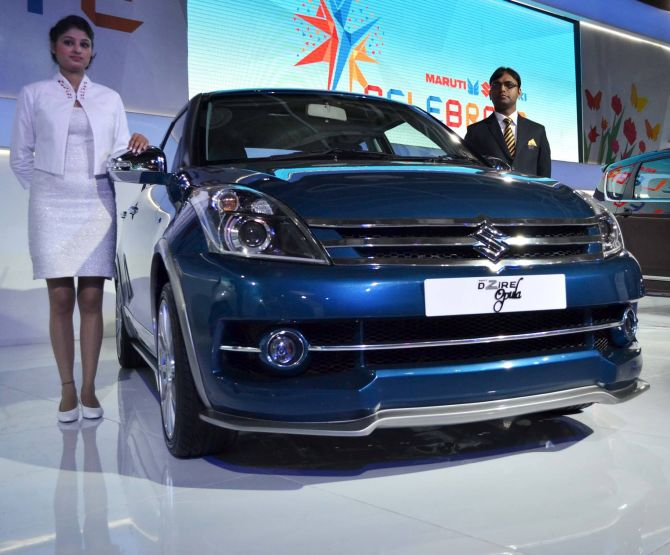 Maruti Swift Dzire 'Opula'.
