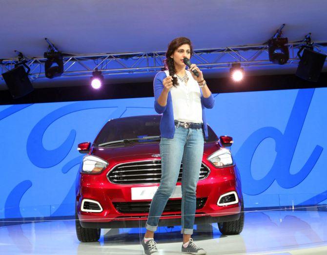 Ford Figo Sedan concept.