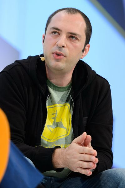 WhatsApp co-founder Jan Koum is the son of a construction worker.
