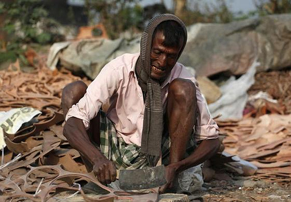 A Kolkata company turns scrap leather into fertiliser