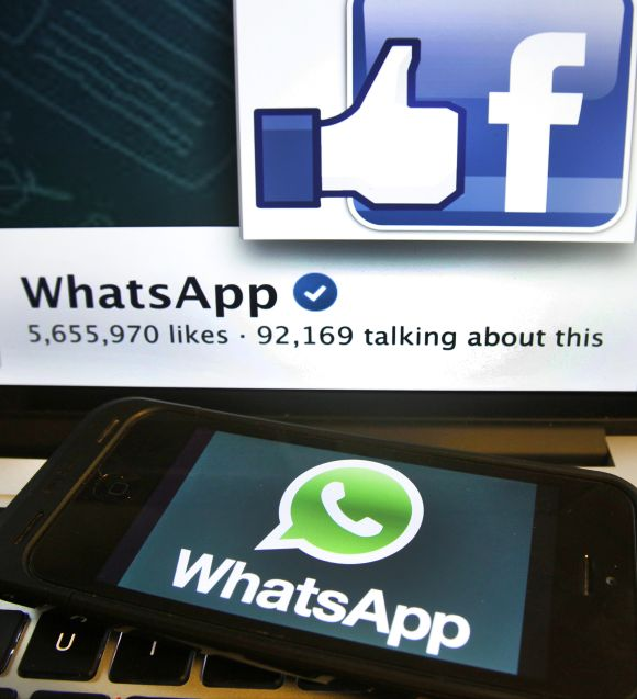 WhatsApp has 450 million users worldwide.
