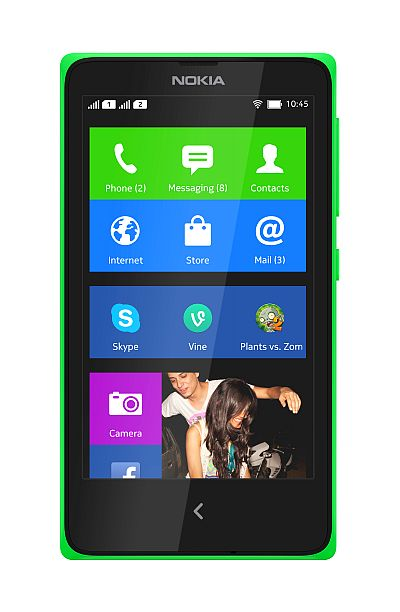 Nokia unveils 3 Android phones