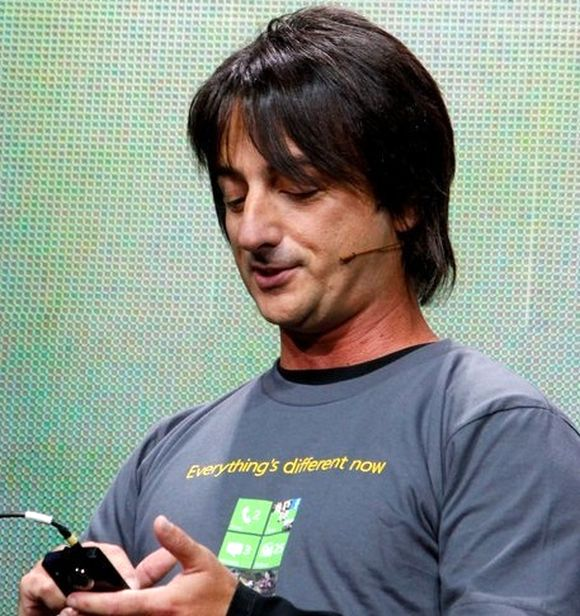 Microsoft Vice President Joe Belgiore.