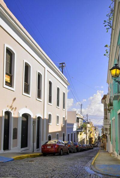 Streets in Old San Juan.
