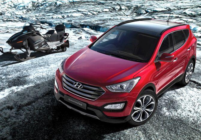 Hyundai Santa Fe.