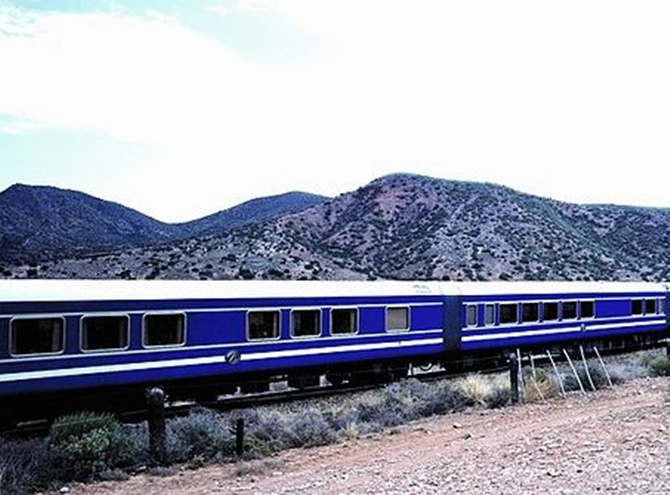 The Blue Train.