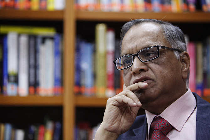 Narayana Murthy, Executive Chairman, Infosys.