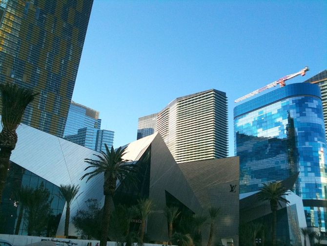 Crystal District at CityCenter in Las Vegas.