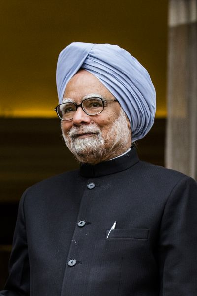 Image: Indian Prime Minister Manmohan Singh. Photographs: Daniel Berehulak/Getty Images