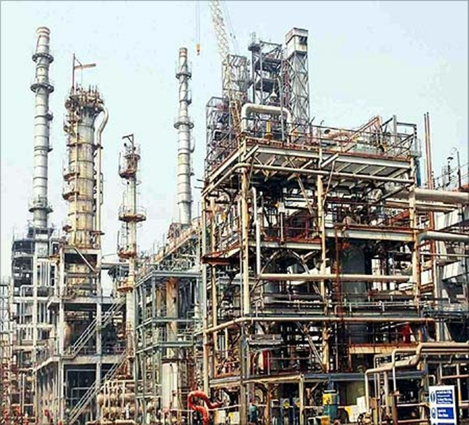 HPCL plant.