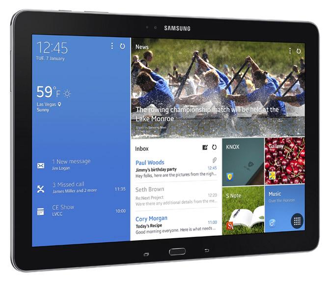 A Samsung tablet.