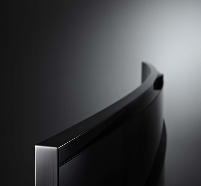 A Samsung UHD TV.